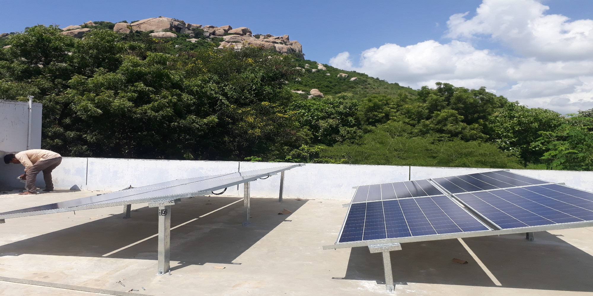 5kw off grid system for Hostel (2)