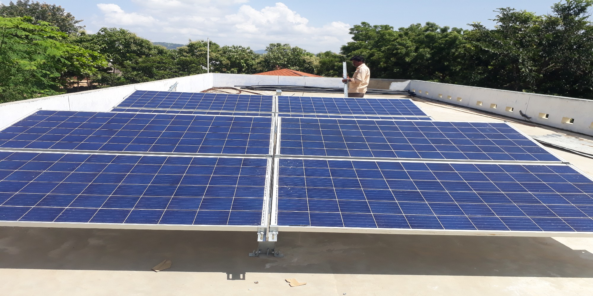 5kw off grid system for Hostel (3)